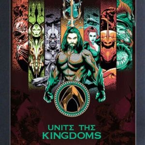 Aquaman Unite the Kingdoms Wall Decoration